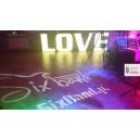 Napis LOVE 3d LED Bydgoszcz